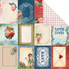 "KaiserCraft Key To My Heart Dobbeltsidet Cardstock 12x12"" - Attraction"