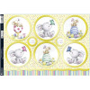 Kanban A4 Paper Craft Toppers - Easter Bunnies