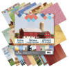 "Paper House Double-Sided Paper Pad 12""X12"" 24/Pkg On The Farm"