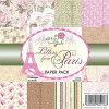 "Wild Rose Studio 6x6"" Paper Pack - Letters From Paris TASTER"