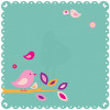 "KaiserCraft Butterfly Kisses Die-Cut Paper 12x12"" - Twig"