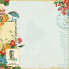 Webster's Pages Spring Market Printed Vellum 12x12""